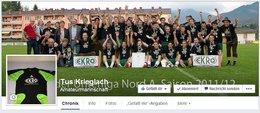 EKRO Tus Krieglach Facebook Fanpage